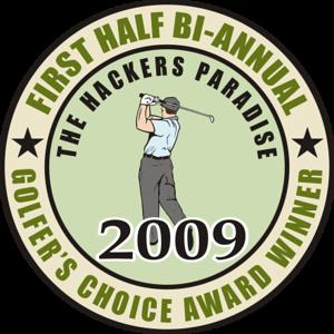 Golfer'schoice awardwinner